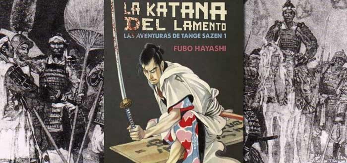 libros sobre samuráis, la katana del lamento