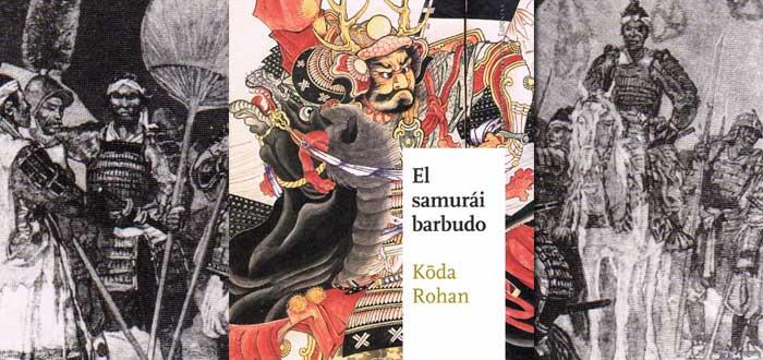libros sobre samuráis, el samurái barbudo