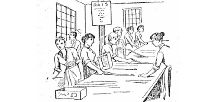 nellie bly, fábricas, mujeres, artículo