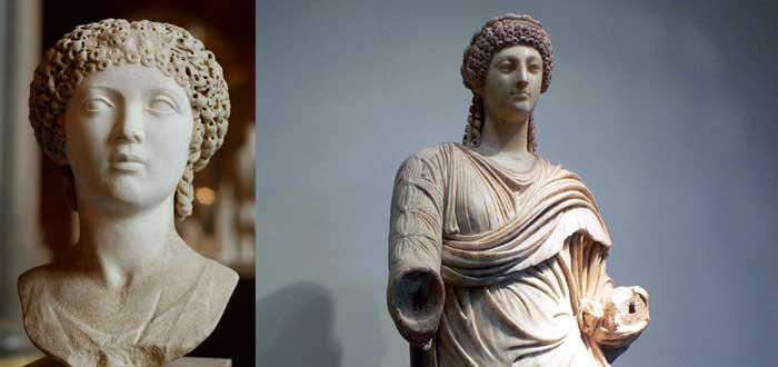 Poppaea Sabina, esculturas