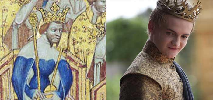 Personajes de la vida real que inspiraron algunos personajes de Juego de Tronos, ricardo II, Joffrey