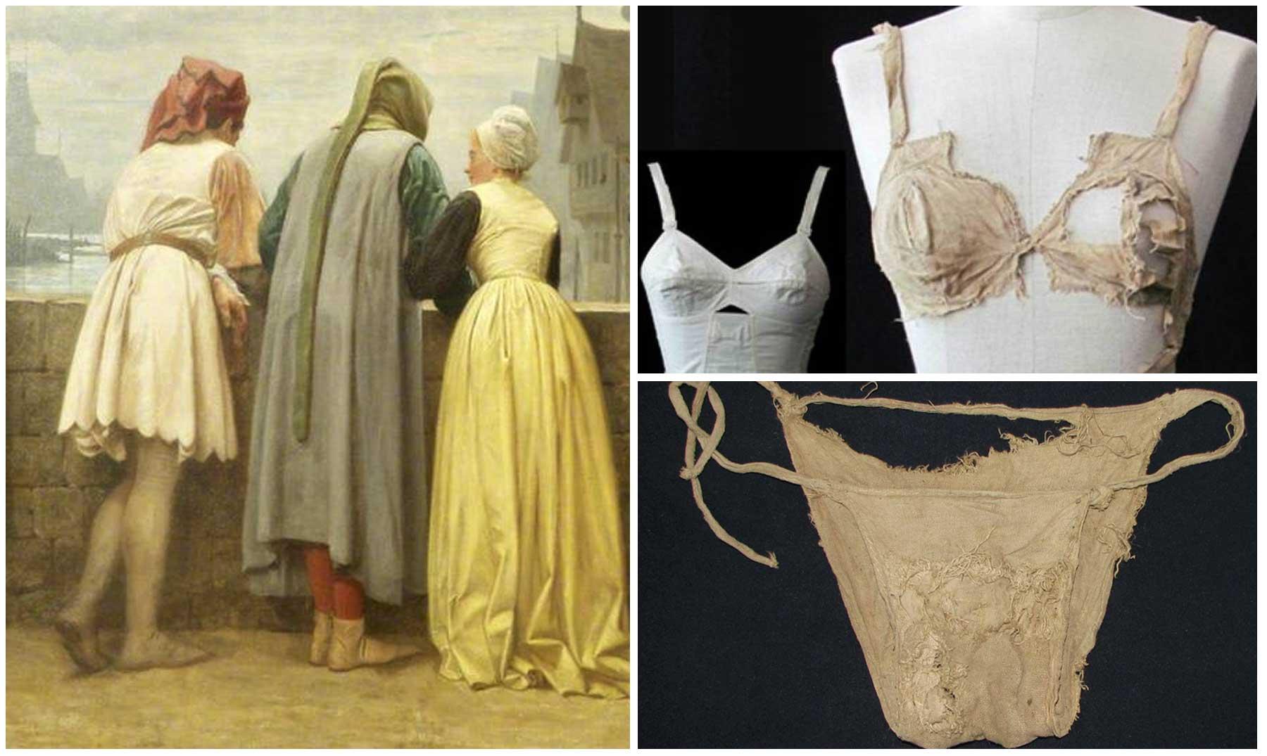 Tener cuidado de diseño distintivo baratas para descuento Sabes cómo era la ropa interior en la Edad Media?