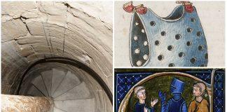 Escaleras de caracol en los castillos y otros secretos medievales