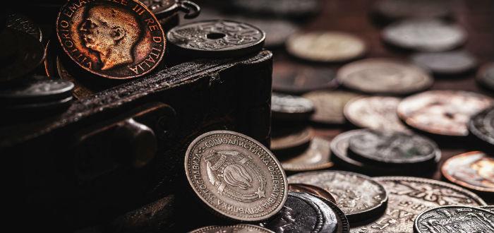 tesoro monedas antiguas