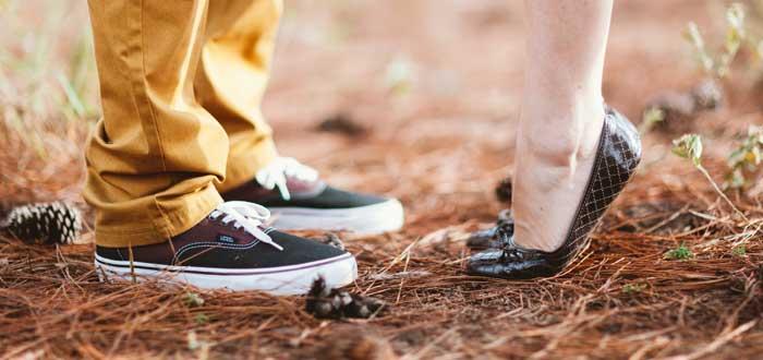 usar zapatos planos, distintos modelos