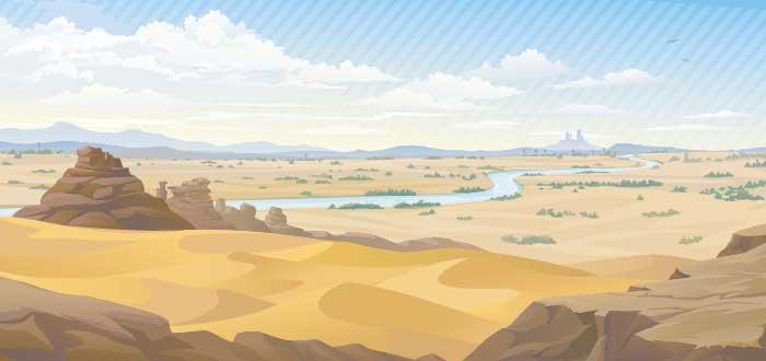 valle rio nilo