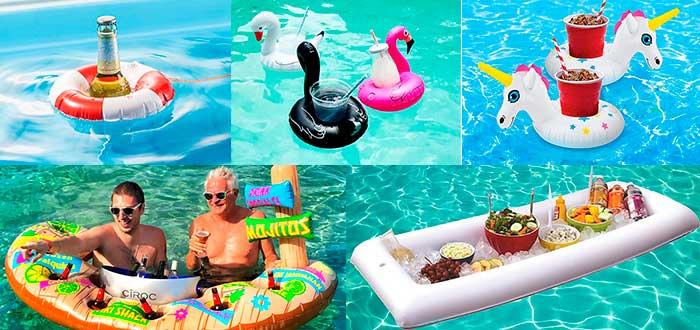 Flotadores para bebidas y comida