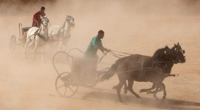 Las carreras de carros en la Antigua Roma. El entretenimiento pasado