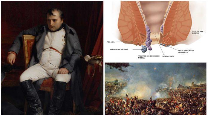 El fin de Napoleón en Waterloo fue por culpa de las hemorroides