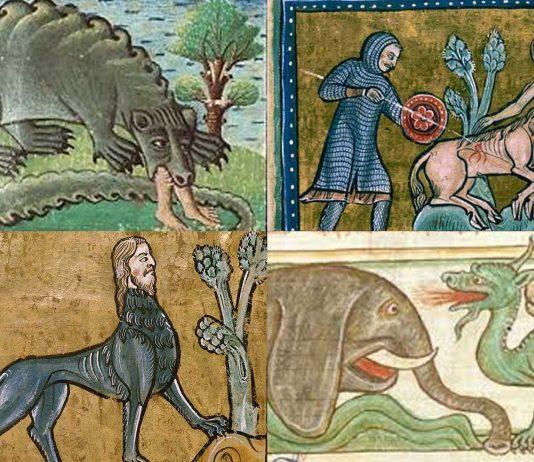 4 terroríficos animales de los Bestiarios Medievales