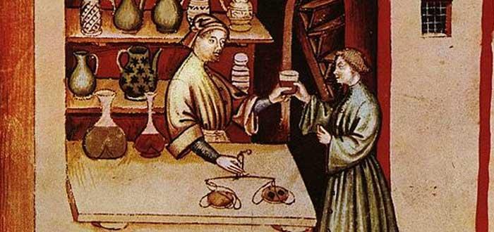 Medicinas Medievales, boticario