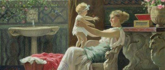 ser madre en la antigua roma