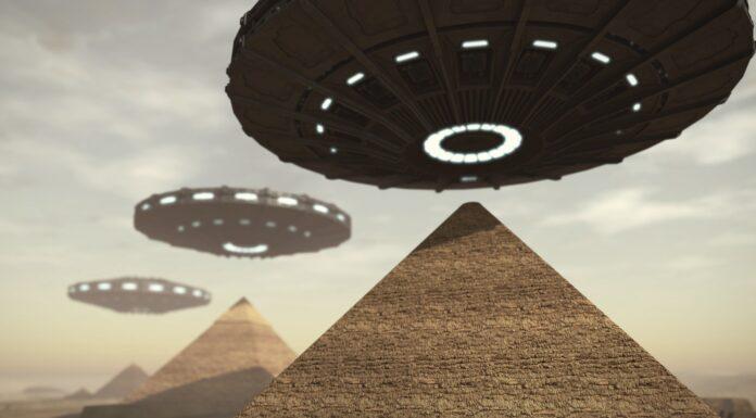 Egipcios y Ovnis
