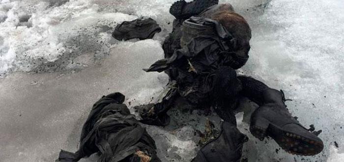 Hallados cuerpos desaparecidos hace 75 años, gracias al cambio climático