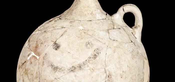 El emoji sonriente más antiguo del mundo fue hallado en Turquía