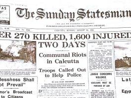 La terrible historia de la Gran Matanza de Calcuta en 1946