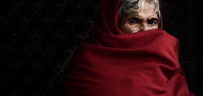 anciana, indicio de alzheimer