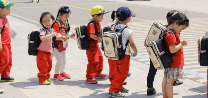niños corea del sur