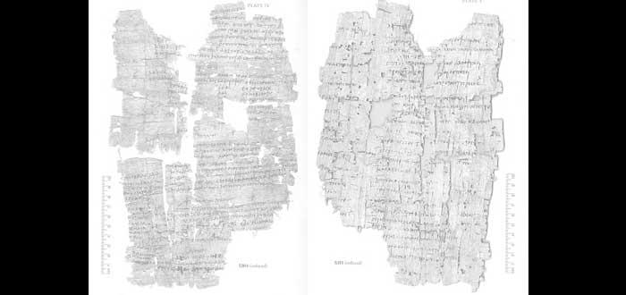 Papiros con Hechizos Mágicos, ¿quieres saber qué decían?