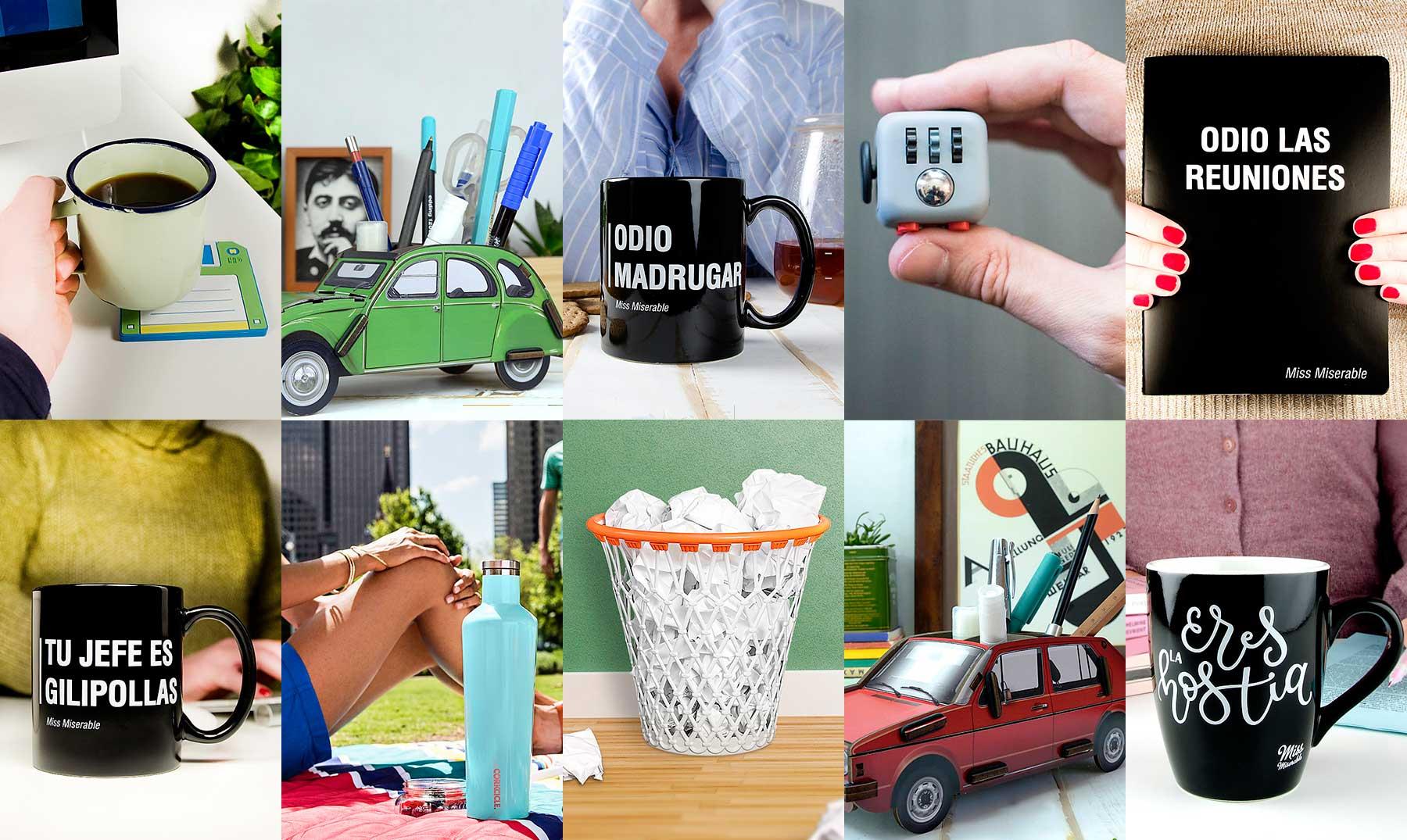 10 regalos super curiosos para afrontar la vuelta a la oficina for Regalos oficina
