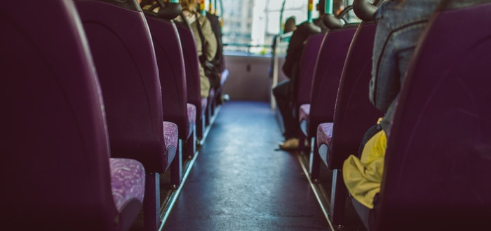 autobús, dormir