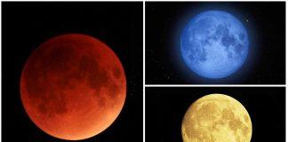 Los colores de la Luna y por qué se producen