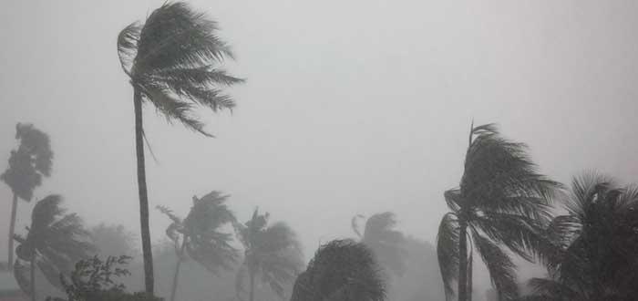 Sobre los huracanes, viento