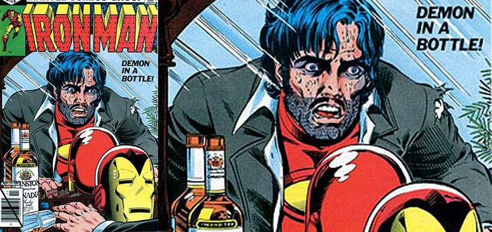 Iron Man, alcoholismo