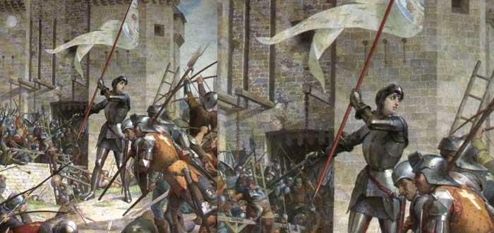 Juana de arco, Batalla
