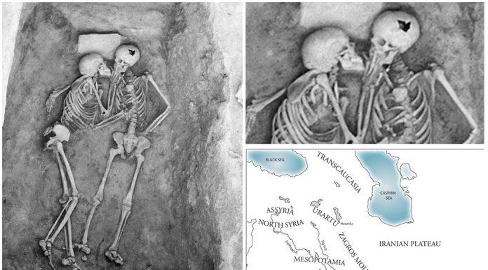 Los amantes de Hasanlu. Un beso de hace 2.800 años