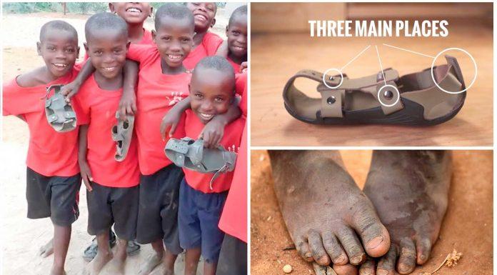 Los increíbles zapatos que crecen con el niño