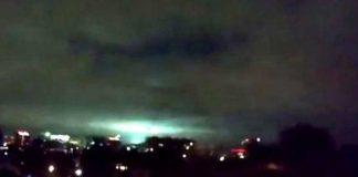 Luces de Terremoto en México, un inquietante fenómeno atmosférico