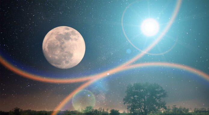 por que la luna cambia de color
