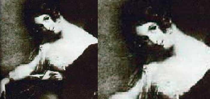 Sobre Lord Byron, hija ilegítima, Elizabeth Medora Leigh