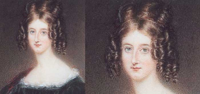 Sobre lord byron, medio hermana, Augusta Maria Leigh