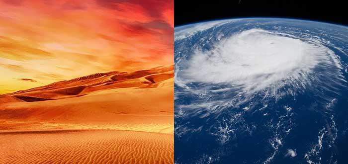 sobre los huracanes, sahara, formación