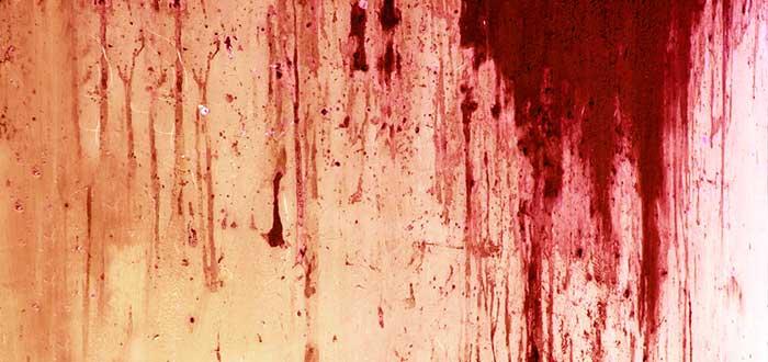 usos de la sangre, asco