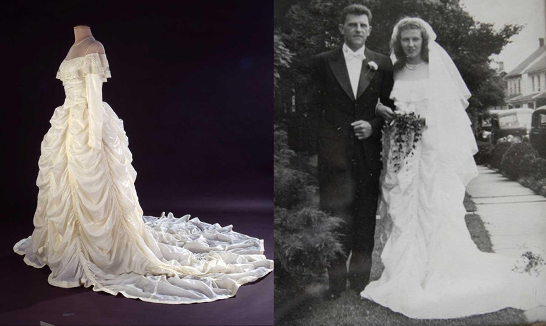 Vestido de novia su historia
