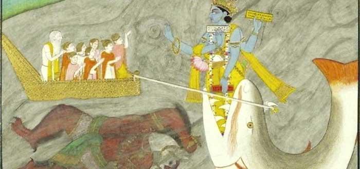 Diluvio universal, hinduísmo