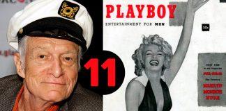 11 Datos que quizá desconocías sobre Hugh Hefner, creador de Playboy