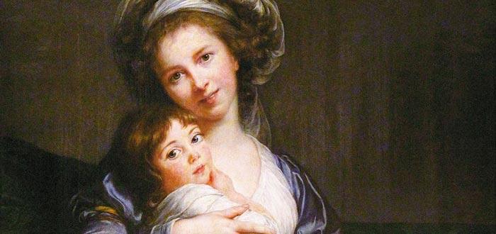 Élisabeth Vigée Le Brun, autorretrato con su hija