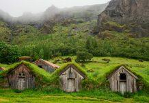 Maravillas vikingas Las tradicionales casas de césped de Islandia