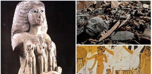 El misterio de la casa de los niños reales de Egipto