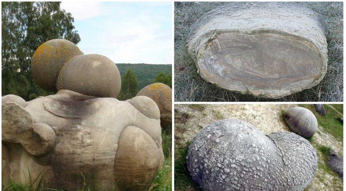 Trovants, las extrañas piedras que crecen, respiran y se mueven