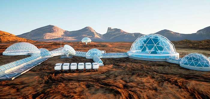 Los planes de Elon Musk en Marte