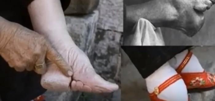 pies de loto, china