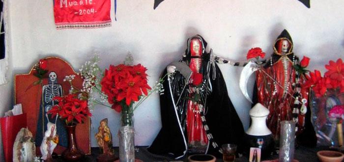 Una virgen con cara de cadáver, la Santa Muerte