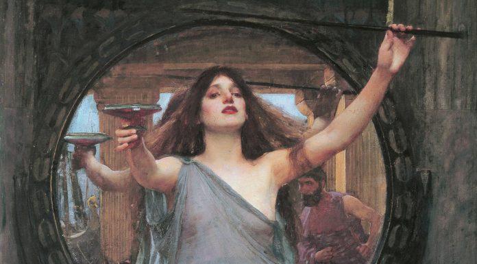 Circe, diosa hechicera y curandera de la mitología griega.
