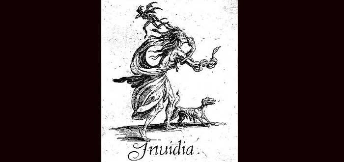 Invidia, la diosa romana antecesora de las brujas
