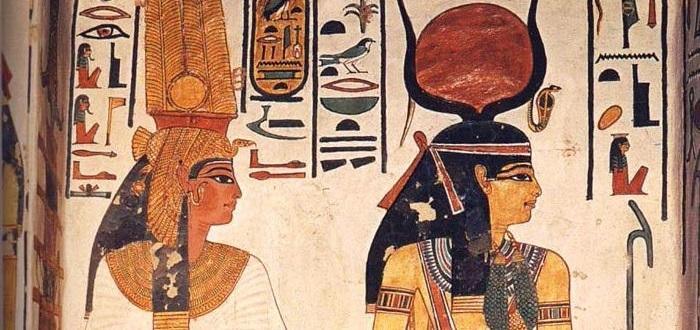 Hathor, diosa del amor en el Antiguo Egipto.